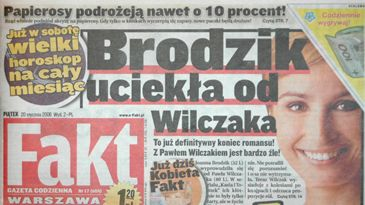 """""""Fakt"""": Joanna Brodzik i Paweł Wilczak rozstali się"""