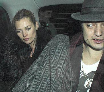 Kate Moss i jej chłopak Pete Doherty planują założyć rodzinę ...