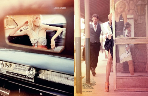 """Anja i Sasha na okładce rosyjskiego """"Vogue'a""""! (ZDJĘCIA)"""
